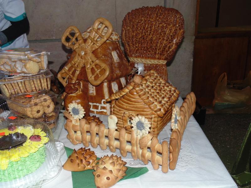 Как сделать дом хлебный 477
